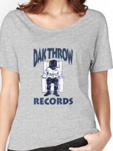 Dak Throw Records Women's Relaxed Fit T-Shirt