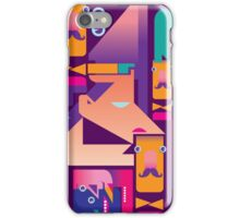 face mask pattern iPhone Case/Skin