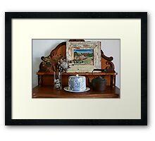 Cottage sideboard Framed Print