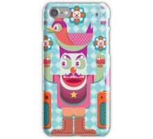 Vector cartoon music band equipment iPhone Case/Skin