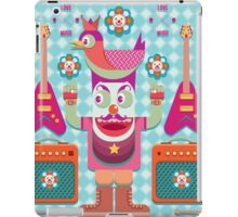 Vector cartoon music band equipment iPad Case/Skin