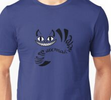 Cheshire Cat - We're all mad here Unisex T-Shirt