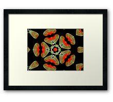 Alien Jewels Framed Print