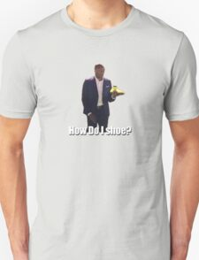 """Kobe - How do I shoe?"" T-Shirt"
