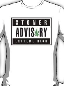 """Stoner Advisory"" T-Shirt"
