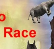 The Zoo Race Rides Sticker