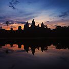 Jewel of Angkor - Cambodia by Mark Shean