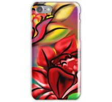 Caribbean Wedding Flowers Roses in Bright Vibrant Colors iPhone Case/Skin