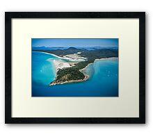Hill Inlet Framed Print