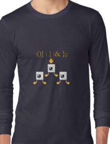 Fork Bomb Long Sleeve T-Shirt