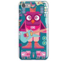 Cute colorful cartoon band iPhone Case/Skin