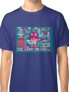Cute colorful cartoon band Classic T-Shirt