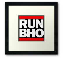 Run BHO Framed Print