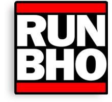 Run BHO Canvas Print