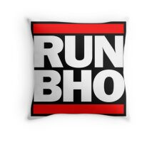 Run BHO Throw Pillow
