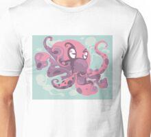 Cute octopus monster Unisex T-Shirt