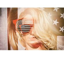 American Blonde Beauty 8767 Photographic Print