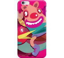 Cute clown colorful monster iPhone Case/Skin