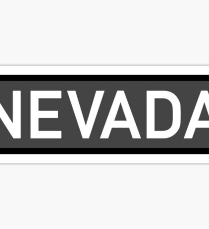 Nevada C Sticker