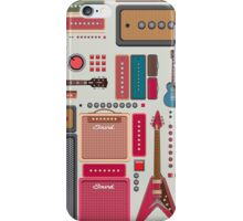 compilation guitar and amplifier iPhone Case/Skin