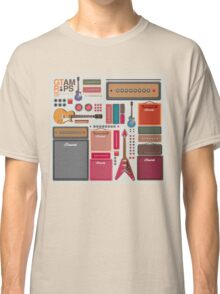 compilation guitar and amplifier Classic T-Shirt