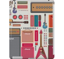 compilation guitar and amplifier iPad Case/Skin