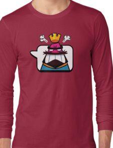 Clash Royale Angry Emoji Long Sleeve T-Shirt