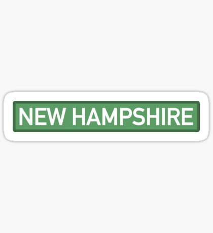 New Hampshire G Sticker