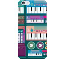 Colorful Synthesizer  iPhone Case/Skin