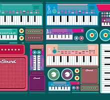 Colorful Synthesizer  by singpentinkhepi