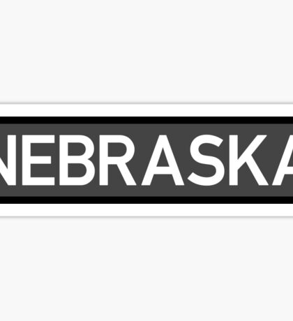 Nebraska C Sticker