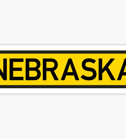 Nebraska Y Sticker