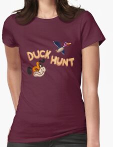 The Duck Hunt Show Womens Fitted T-Shirt