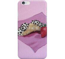 Cannoli & Strawberry Painting iPhone Case/Skin