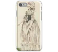Journal of Luxury and Fashion Friedrich Justin Bertuch  iPhone Case/Skin