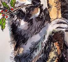 Christmas koala. Elizabeth Moore Golding 2014© Sticker