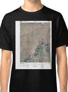 USGS TOPO Map Colorado CO Omar 20100816 TM Classic T-Shirt
