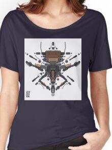 guitar robot character design Women's Relaxed Fit T-Shirt