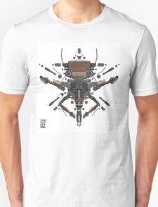 guitar robot character design Unisex T-Shirt