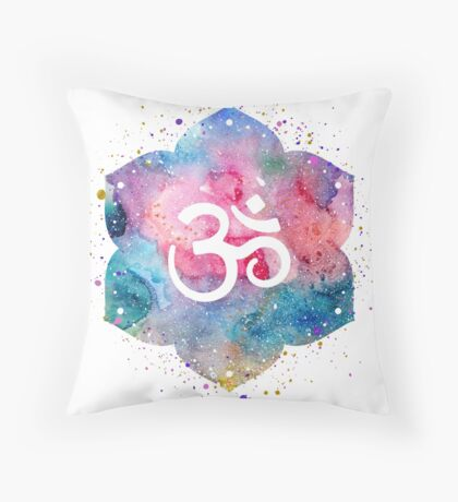 Om Throw Pillow