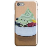 Frozen Yogurt Painting iPhone Case/Skin