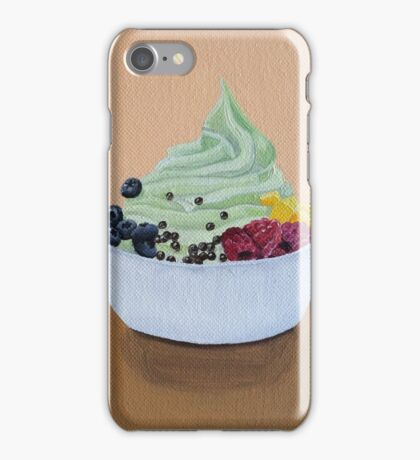 Frozen Yogurt Painting iPhone Case/Skin