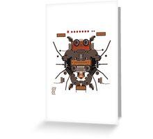 The robobugs guitar Greeting Card