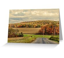 Fall All Around Greeting Card