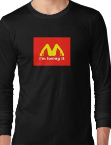 I'm loving it Long Sleeve T-Shirt