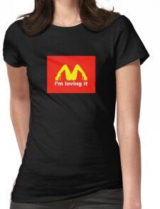I'm loving it Womens Fitted T-Shirt