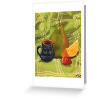 Fruit Still Life Painting Greeting Card