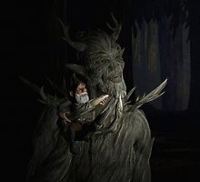 The Forest King And Friend by Michael Beers