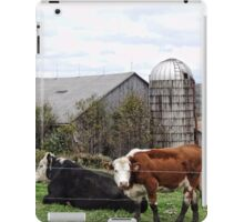 Country Cows Say Moo iPad Case/Skin