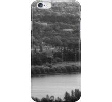 The Lake Panorama - BW iPhone Case/Skin